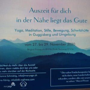 Auszeit in Guggisberg